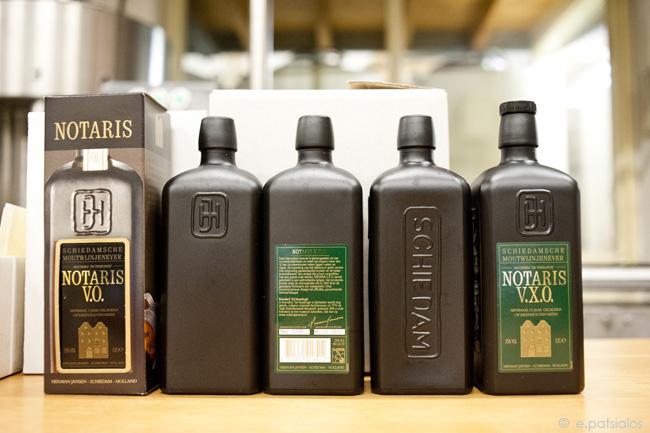 Notaris bottles (μπουκάλια)