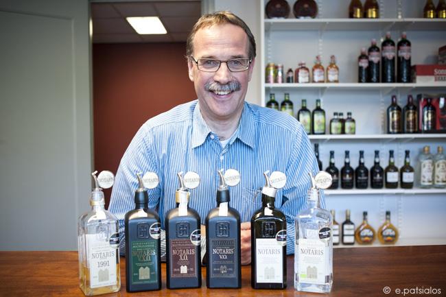 Ad van der Lee, distiller at Notaris