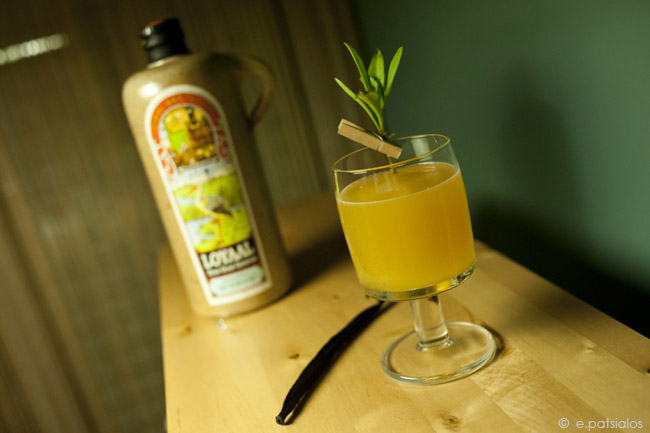 Tarragon's Bee : A delightful genever cocktail