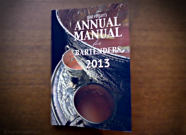 Annual Manual for Bartenders 2013