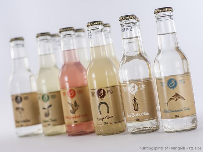 3 Cents: premium greek soft drinks
