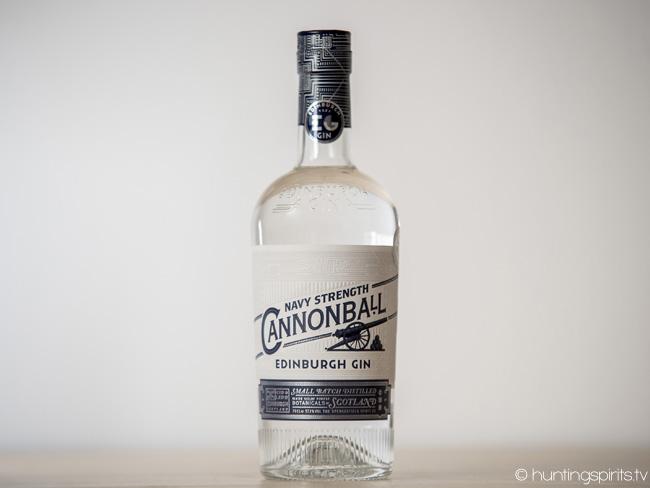 To Edinburgh Gin Cannonball