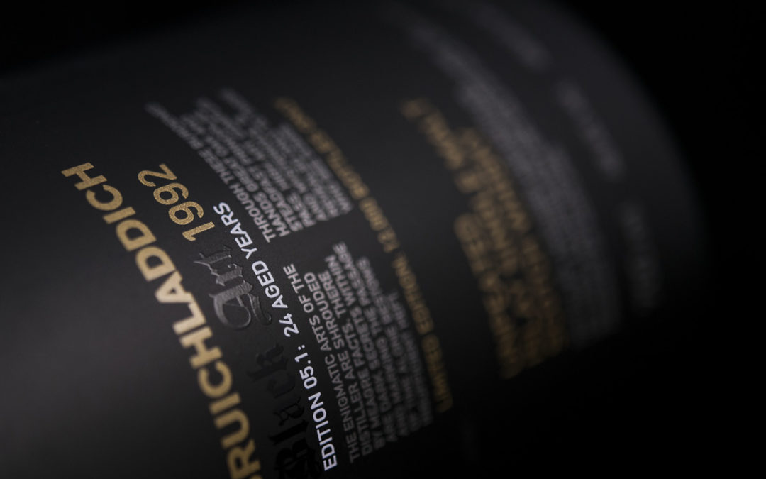 Bruichladdich BLACK ART 1992 : 24 Years Old
