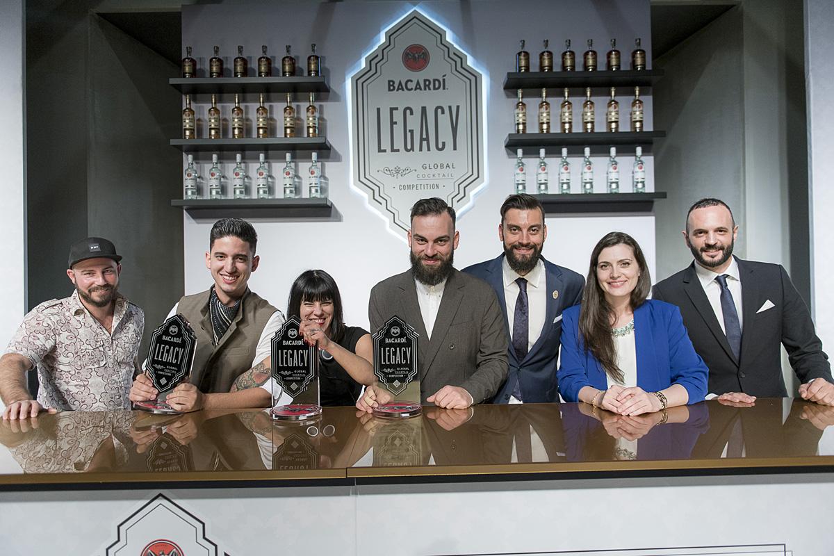 Οι 3 πιο υποσχόμενες συνταγές από την Ελλάδα για το Bacardi Legacy 2018