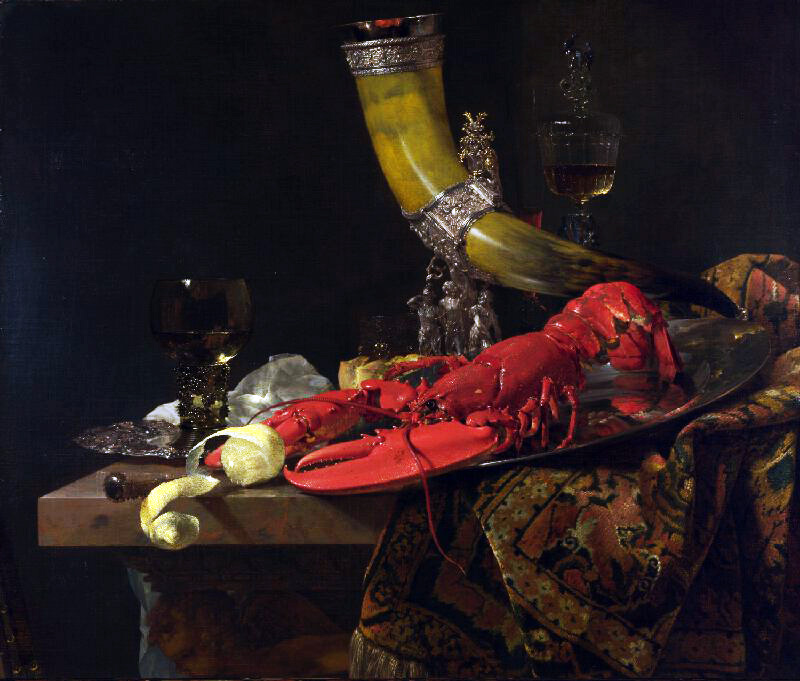 Still Life with the Drinking-Horn: Willem Kalf