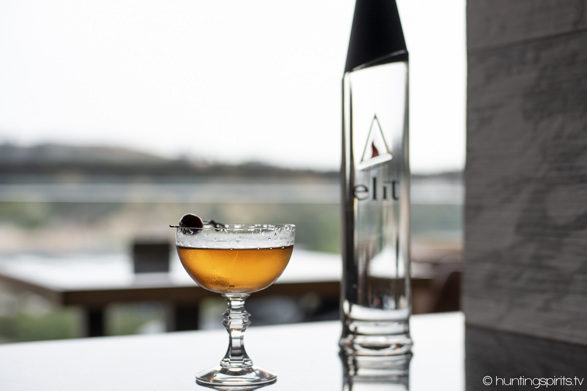 Punched Up Martini