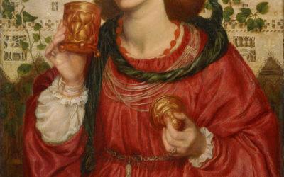 The Loving Cup – Dante Gabriel Rossetti