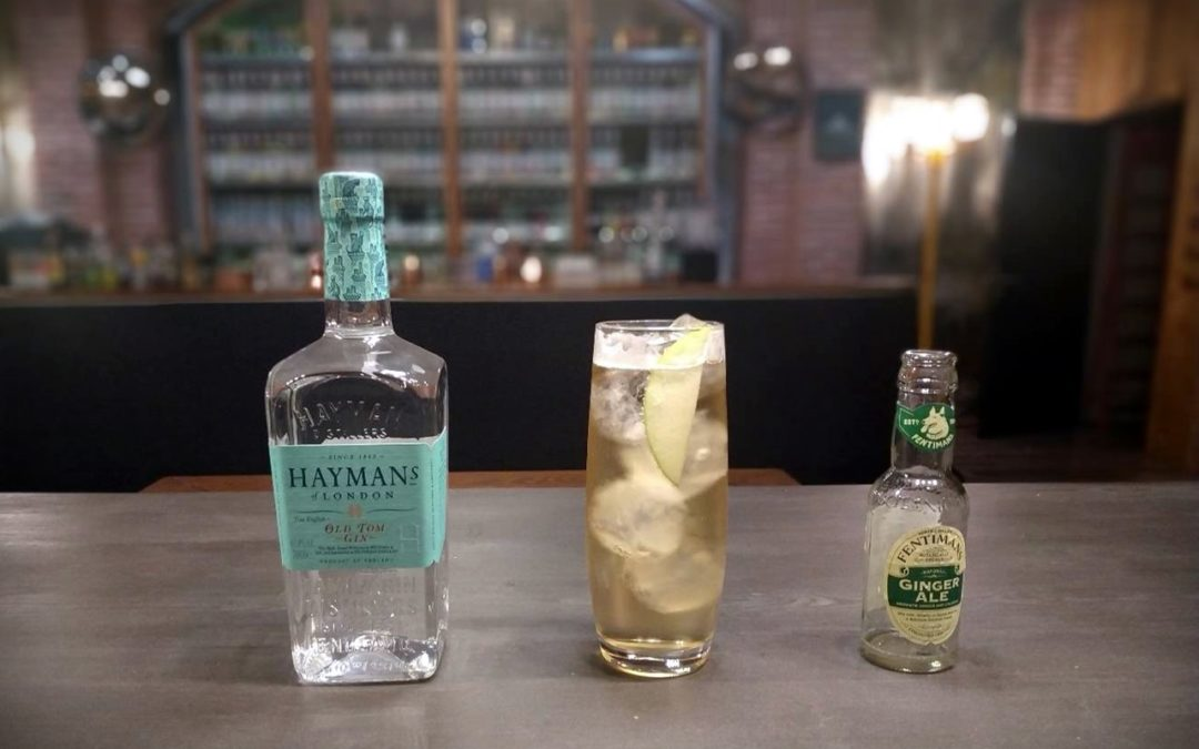 Hayman's Gin. True English tradition gets sparkled!