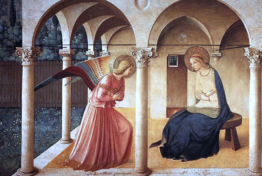 Fra Angelico – Ο Ευαγγελισμός